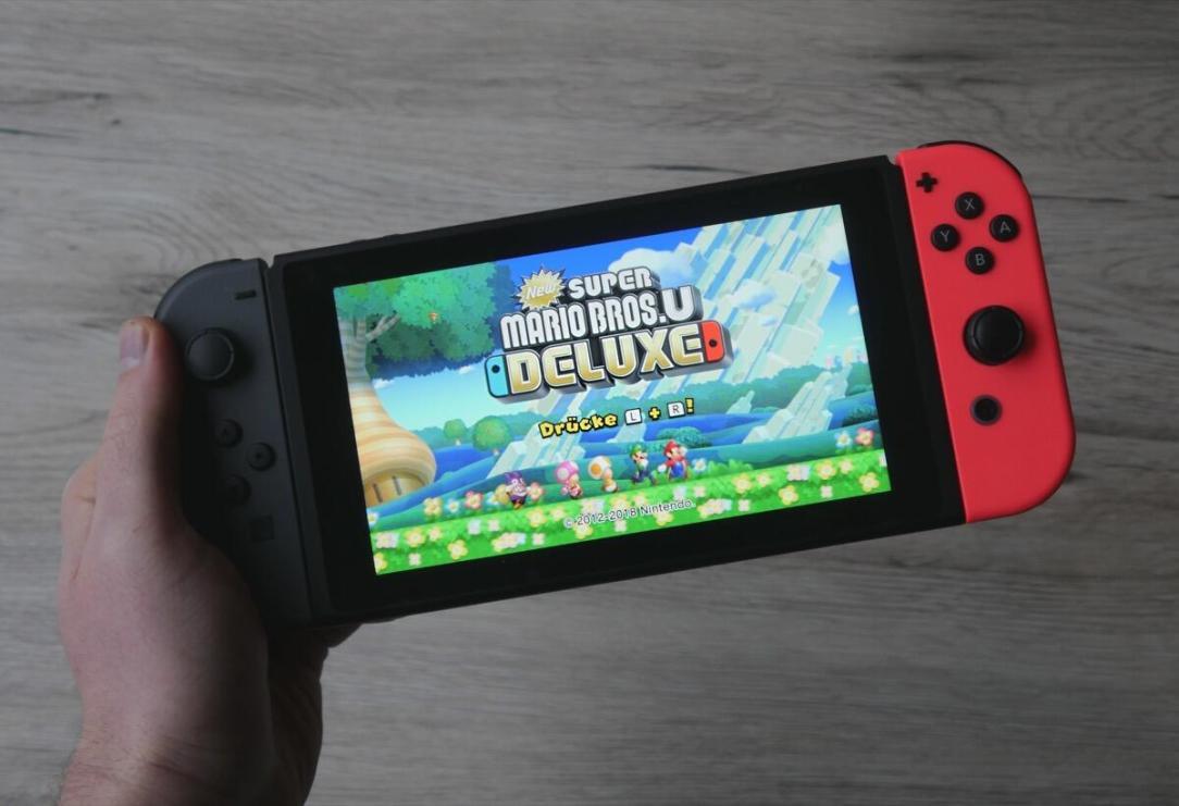 New Super Mario Bros U Deluxe Header