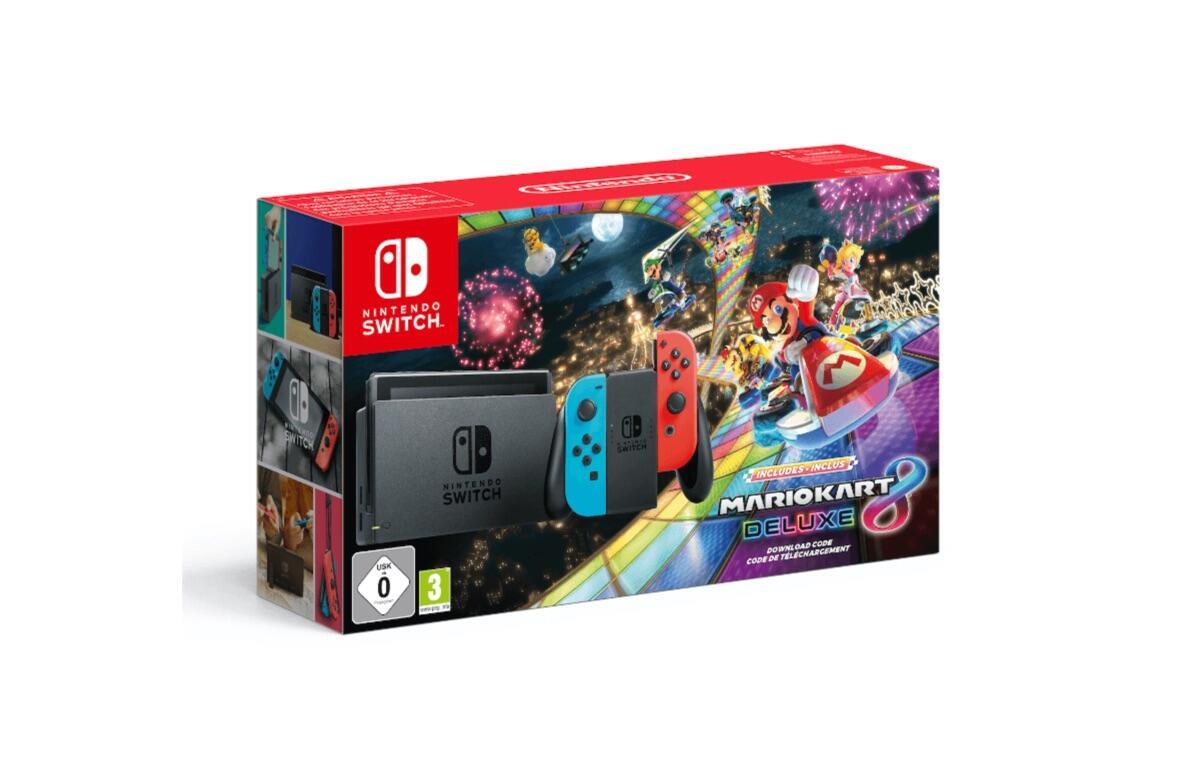 Nintendo Switch Mario Kart Bundle
