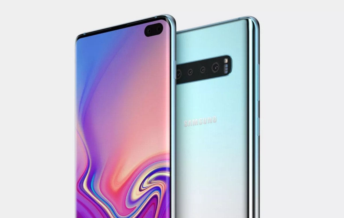 Samsung Galaxy S10 Plus Leak Render