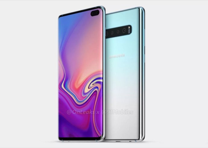 Samsung Galaxy S10 Plus Render3
