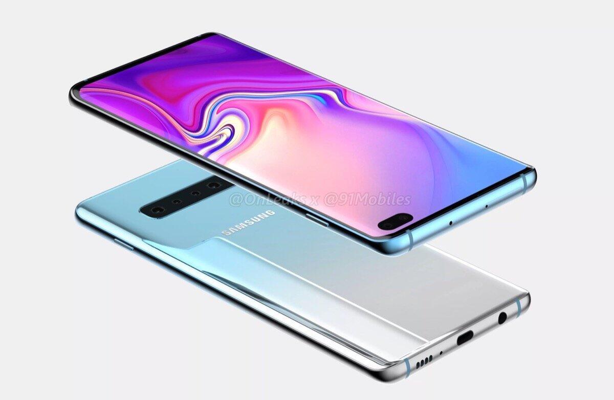 Samsung Galaxy S10 Plus Render4
