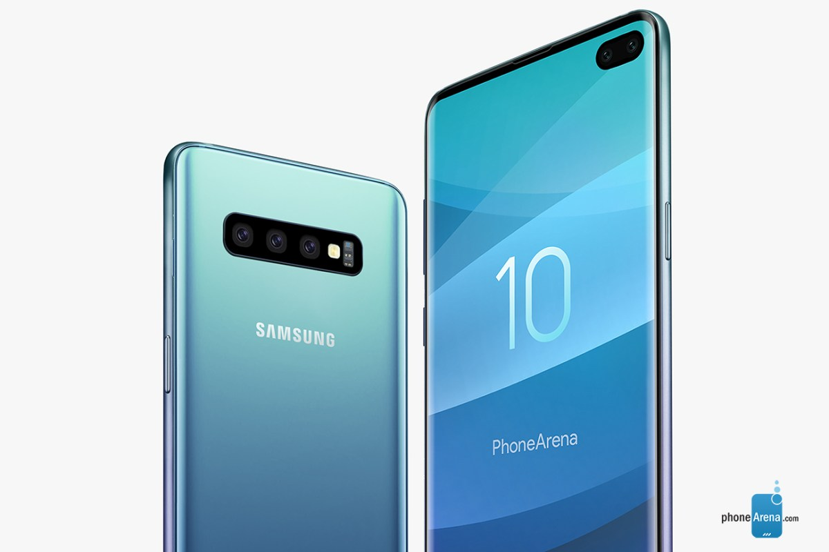 Samsung Galaxy S10 Plus Triple Camera