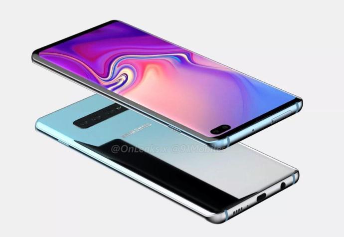 Samsung Galaxy S10 Render2
