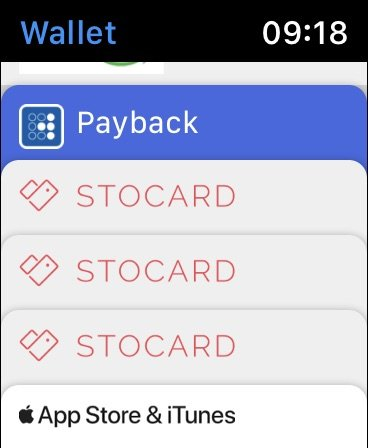 Stocard Wallet Fail
