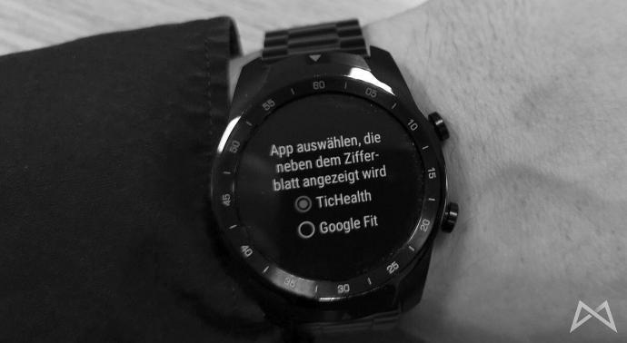 Ticwatch App Auswaehlen