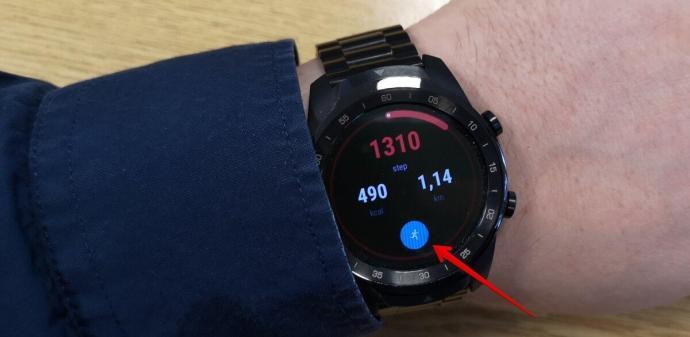 Ticwatch Pro Fit App Auswaehlen