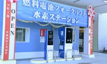 Toyota Wasserstoff Tankstelle