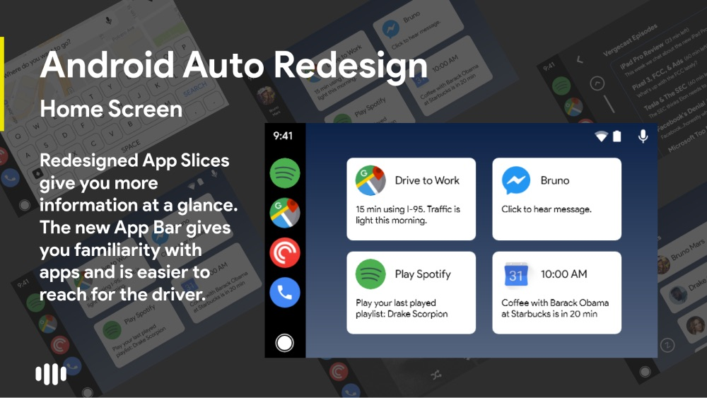 Android Auto Konzept