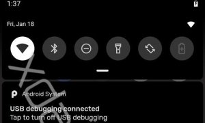 Android Q Black Accent Color