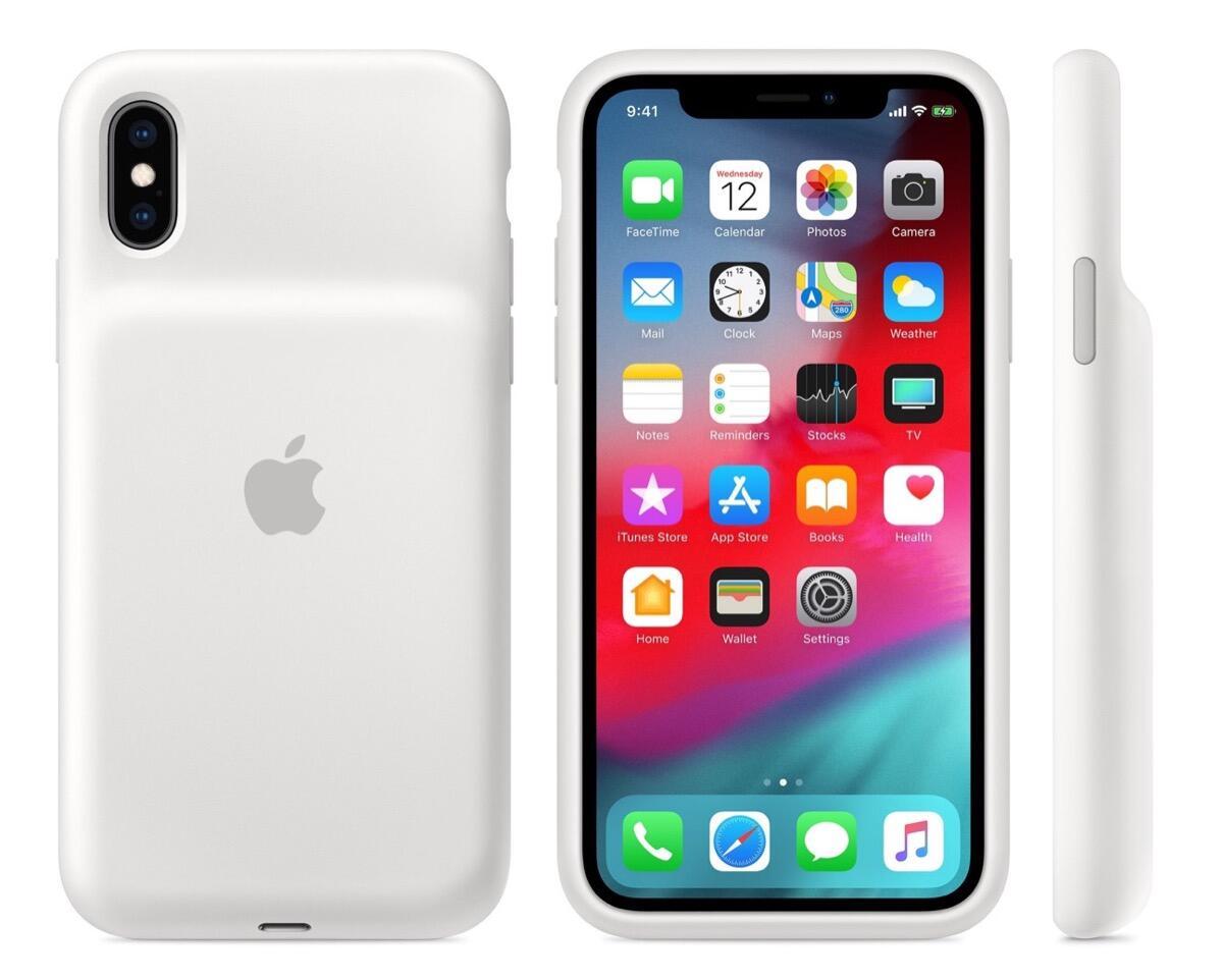 Apple Smart Battery Case passt auch auf das iPhone X