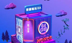 Honor 8a Teaser