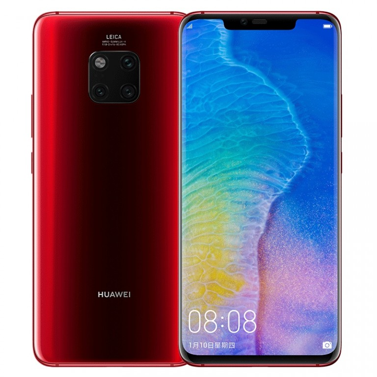 Huawei Mate 20 Pro Fragrant Red