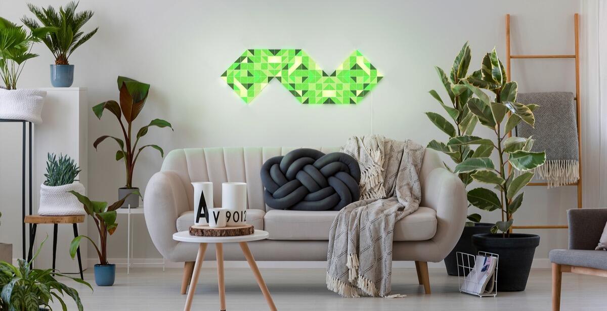 lametric sky alternative zu nanoleaf auf der ces 2019 vorgestellt. Black Bedroom Furniture Sets. Home Design Ideas