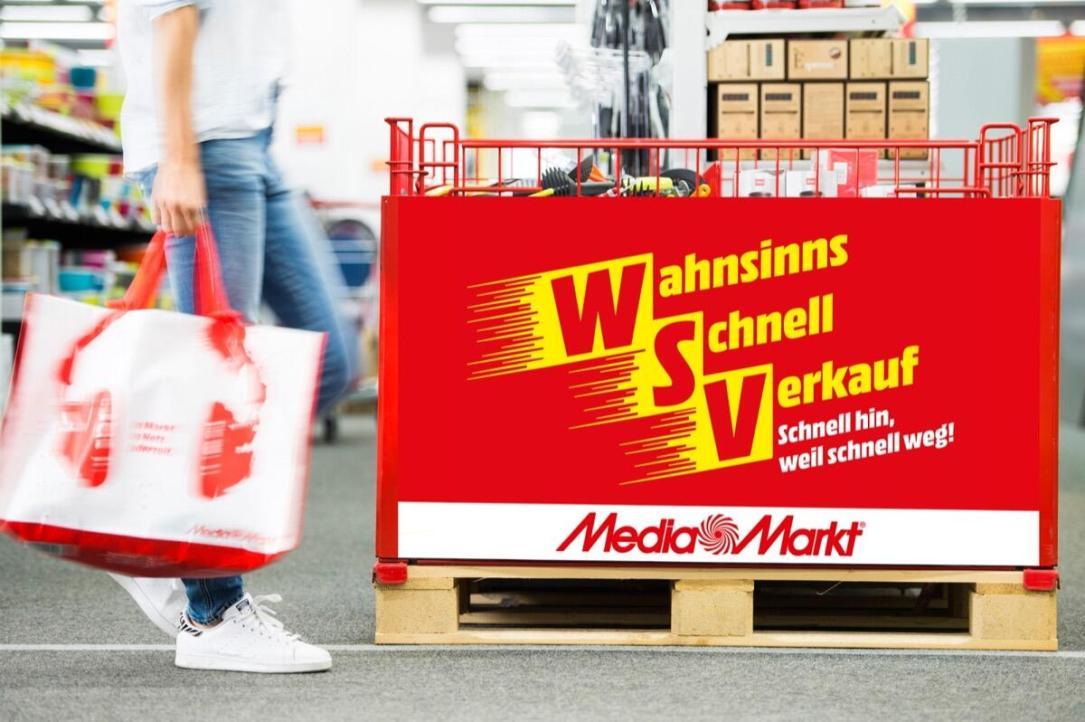 Mediamarkt Wahnsinnsschnellverkauf 2019