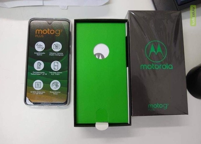 Moto G7 Plus Unboxed