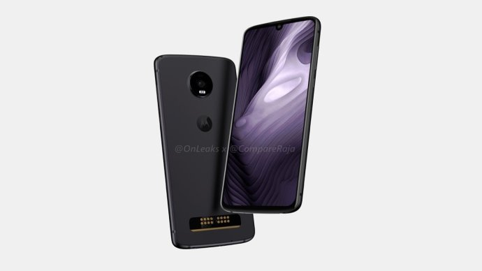 Motorola Moto Z4 Play Render3
