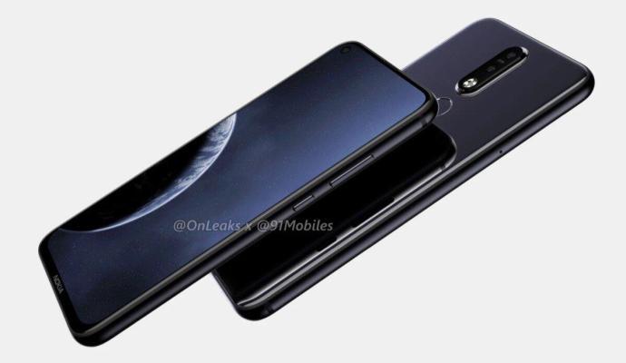 Nokia 8.1 Plus Render2