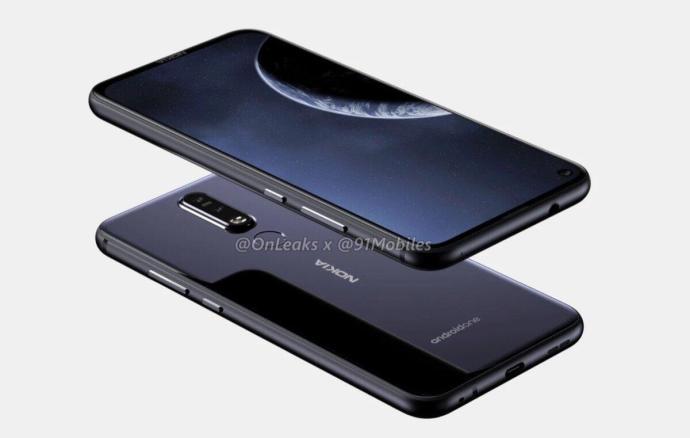 Nokia 8.1 Plus Render3