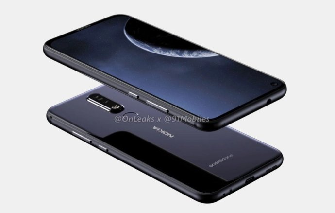 Nokia 8.1 Plus Render3