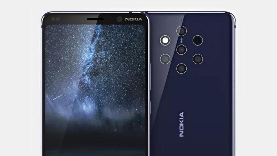 Nokia 9 Pureview Render Header