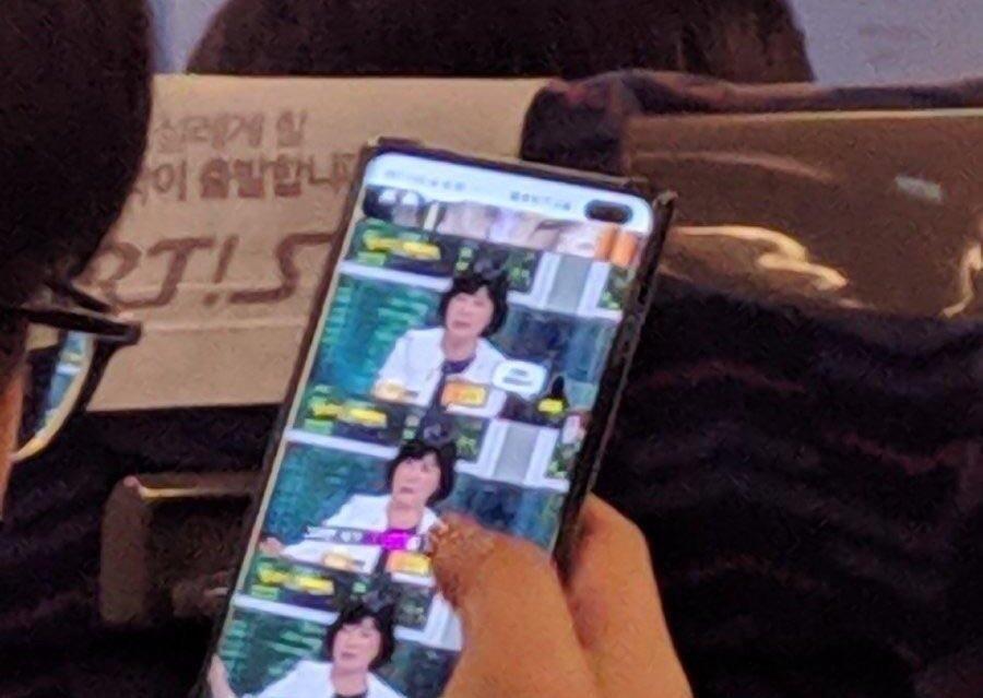 Samsung Galaxy S10+ zeigt sich auf erstem Foto