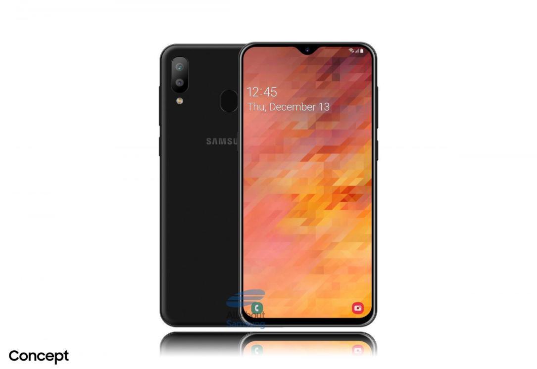 Samsung Galaxy M30 Konzept