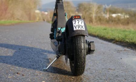Yorks Scooter S1 Elite Back