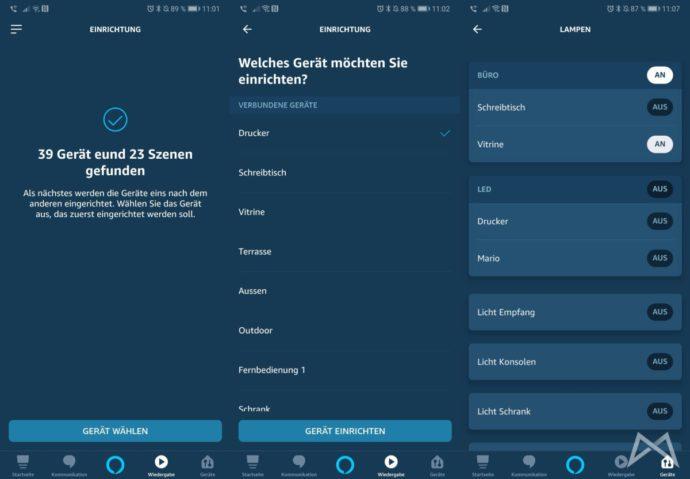 Alexa Echo Smart Devolo Skill Erweiterte Einrichtung