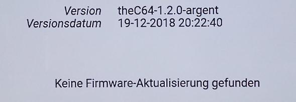 C64mini Firmware