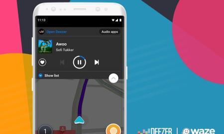 Deezer Waze Android