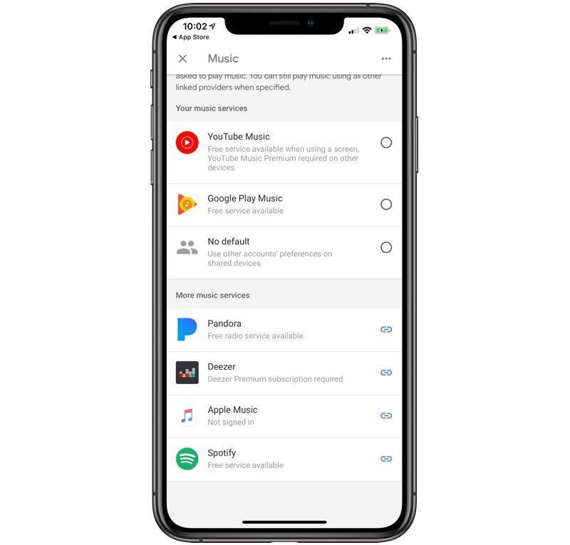 Google Home Apple Music