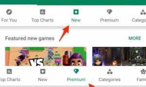 Google Play Store Kategorien