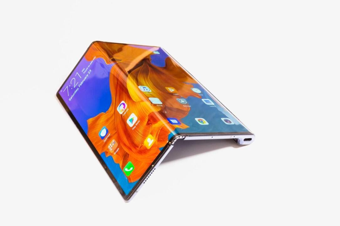 Huawei Mate X Handson6