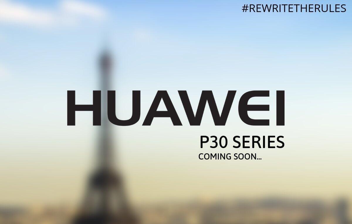 Huawei P30 Paris Event