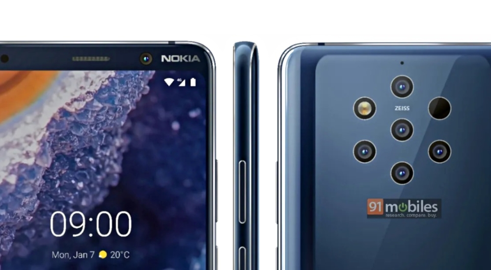 Nokia 9 Pureview Leak Press Teaser