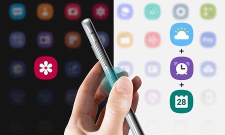 Samsung Bixby Button Header