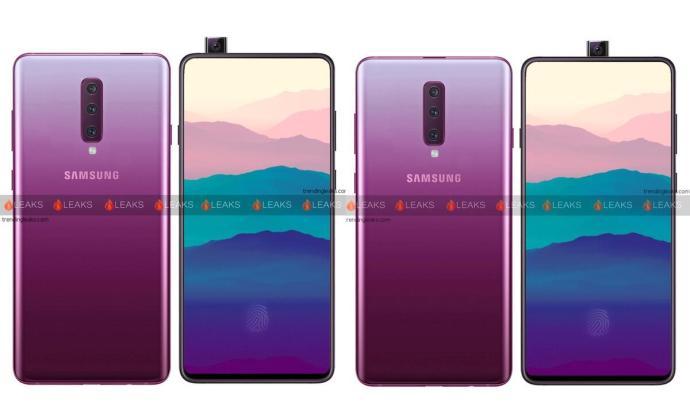 Samsung Galaxy A90 Leak Konzept