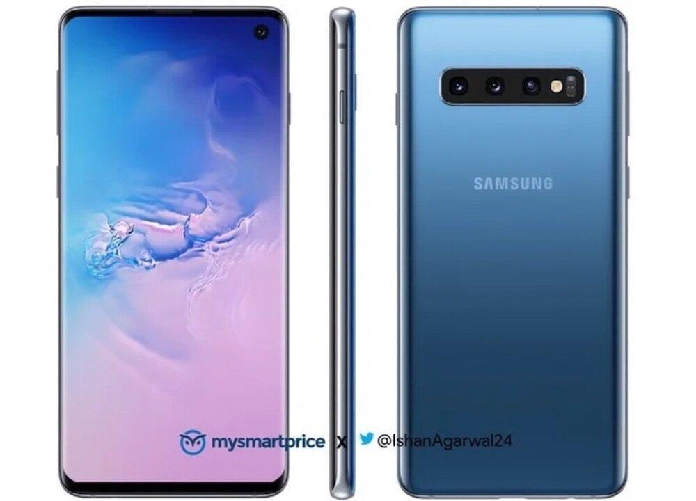Samsung Galaxy S10 Blau