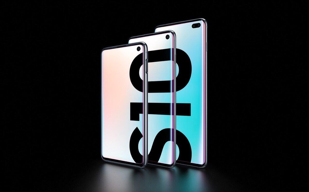 Samsung Galaxy S10 Lineup Header