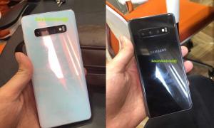 Samsung Galaxy S10 Live Leak Back