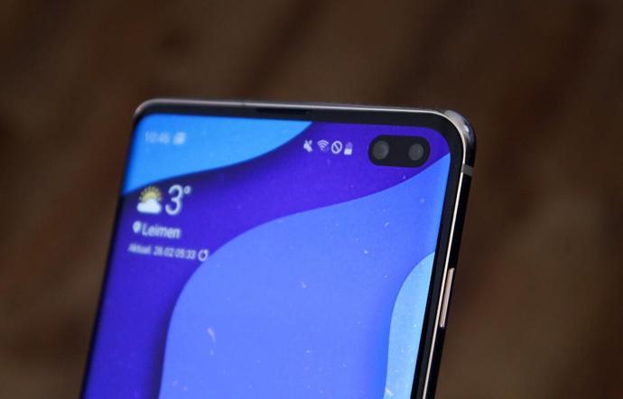 Samsung Galaxy S10 Loch