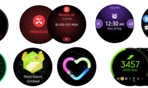 Samsung Galaxy Watch Active Fitness Faces