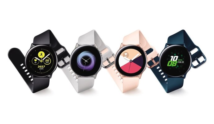 Samsung Galaxy Watch Active Header