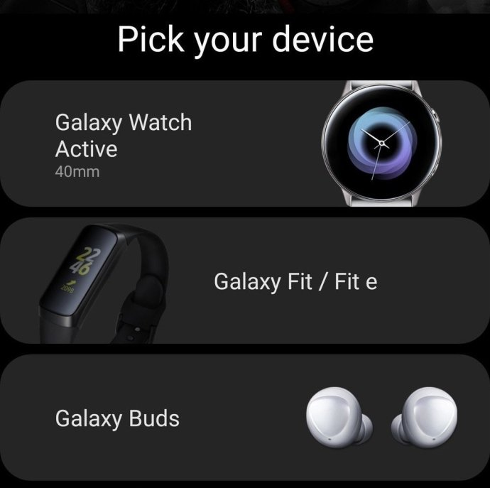 Samsung Galaxy Wearable Leak