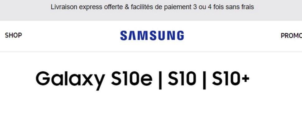 Samsung S10 Namen