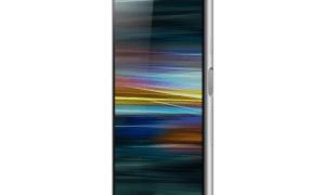 Sony Xperia Xa3 Seite