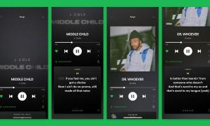 Spotify App Design Neu