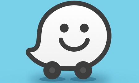 Waze Logo Header