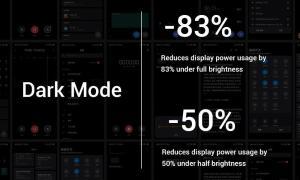 Xiaomi Mi 9 Dark Mode