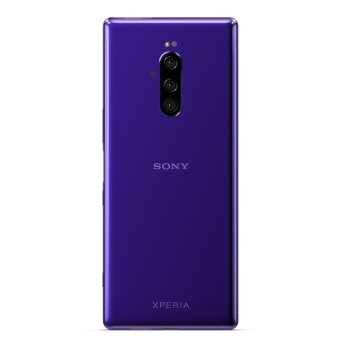 Xperia 1 Purple Back